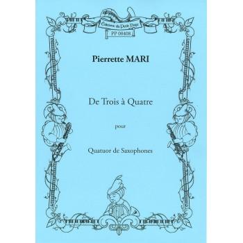 MARI Pierrette - De Trois à...