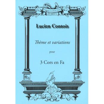 CONTOIS Lucien - Thème et...