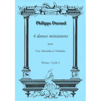 DURAND Philippe - 4 Danses...