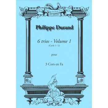 DURAND Philippe - 6 Trios