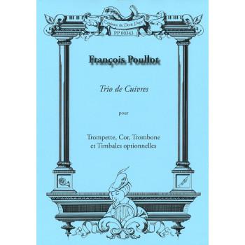 POULLOT François - Trio de...